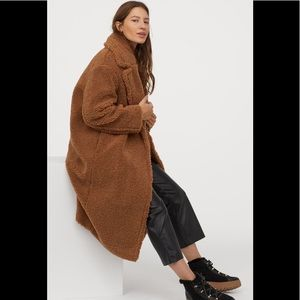 New with tag faux fur coat